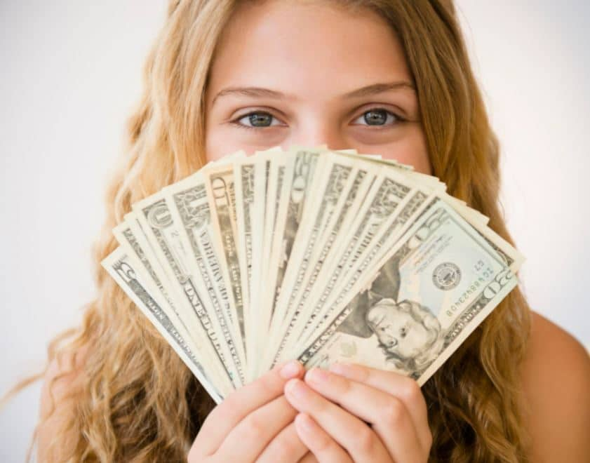 Spending Cash Online